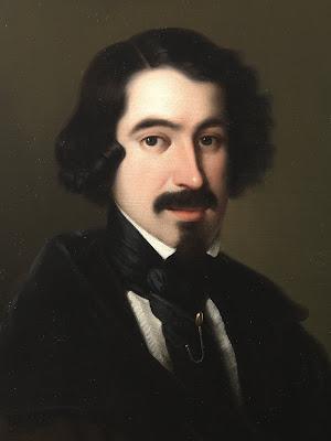 Retrato del escritor y poeta español José de Espronceda (1808-1842). de Wikipedia