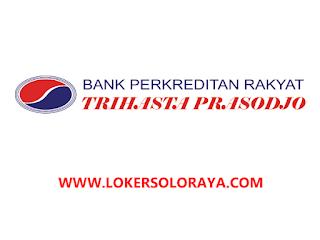 Lowongan Kerja Team Leader Kredit dan Account Officer di BPR Trihasta Prasodjo Solo