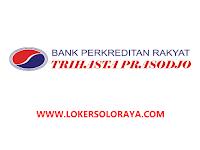 Lowongan Kerja Solo Februari 2021 di BPR Trihasta Prasodjo