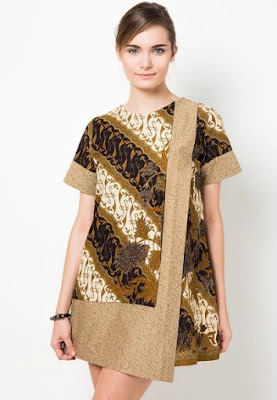 Model baju batik keris modern