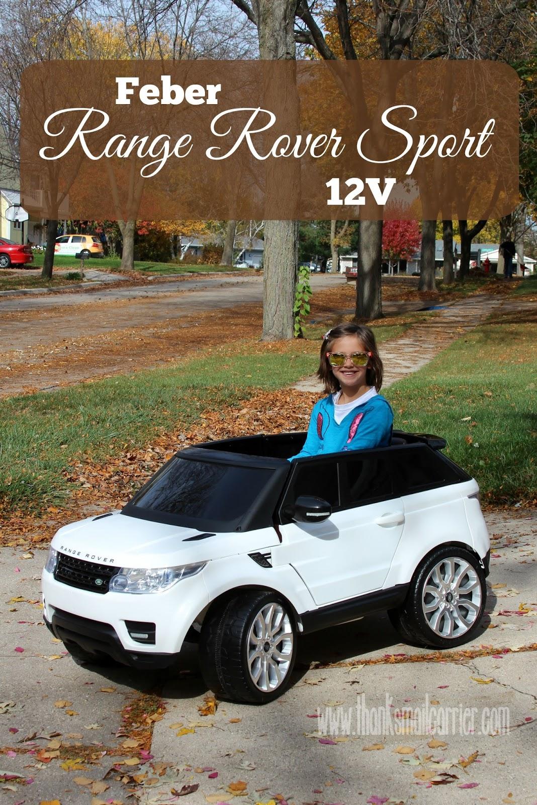 Thanks Mail Carrier Dreams Range Rover Sport 12v