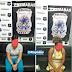 Duas mulheres foram presas tentando entrar com drogas no presídio de Tobias Barreto