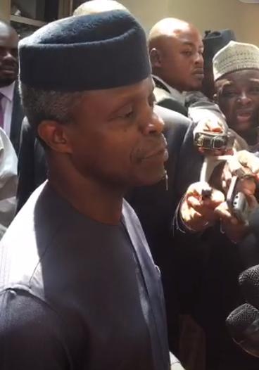 President Buhari is in high spirit, he will return soon- Osinbajo says