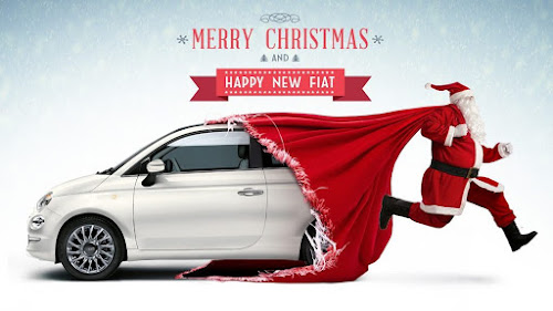 Merry Christmas Fiat 500