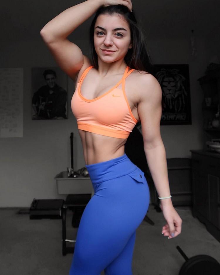 Best Female Fitness Models 2017 Tessa Barresi