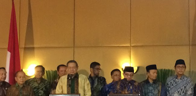 Bertemu PKS, SBY: Kami Bernostalgia