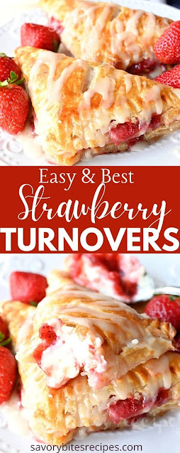 best ever strawberry turnovers