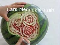 Cara Belajar Seni Fruit Carving