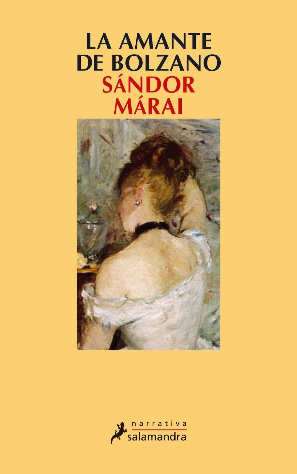 La amante de Bolzano – Sandor Marai