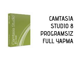 Camtasia Studio 8 PROGRAMSIZ Full Yapma
