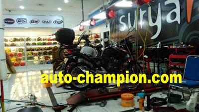 kasus Honda CB 150 R brebet