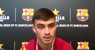 Pedri reveals which Barcelona player he roll with mostly