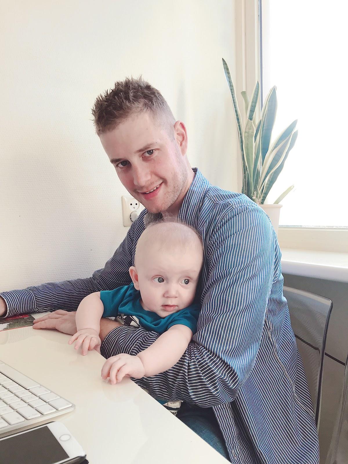 mijn week in foto's glamview papa en zoon