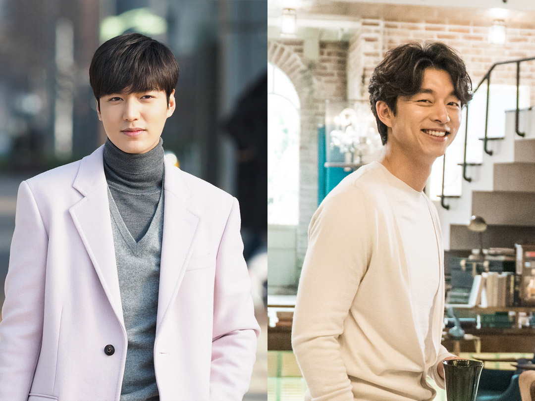 Lee Min Ho (R) and Gong Yoo.
