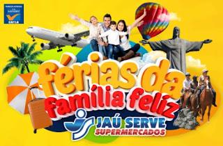 Cadastrar Promoção Jaú Serv Supermercados Férias Família Feliz