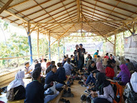 Keseruan Festival Jurnalistik di Area Wisata Bukit Pandang Duren Sawit