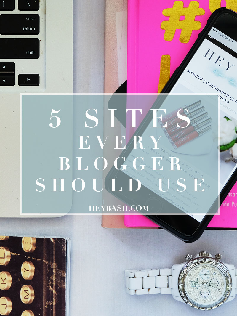 Bash Harry shows you 5 websites every blogger should use to improve your blog!
