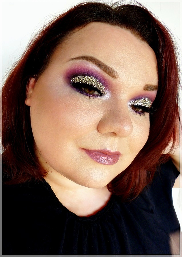 3 dimensionales makeup Kristalle