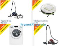 Logo Offerte e Speciale pulizie di primavera : sconti fino al 50% ( robot, aspirapolveri,scope, lavatrici,ecc)