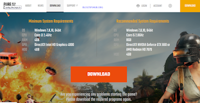 pubg lite website