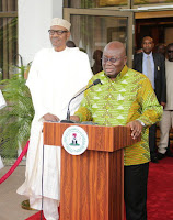 HUGH MASAKELA: TRIBUTE PRESIDENT NANA ADDO DANKWA AKUFO-ADDO, OF GHANA AT THE FUNERAL OF THE LEGENDTHE FUNERAL