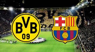مباراة برشلونة وبوروسيا دورتموند والتشكيلات المتوقعة
