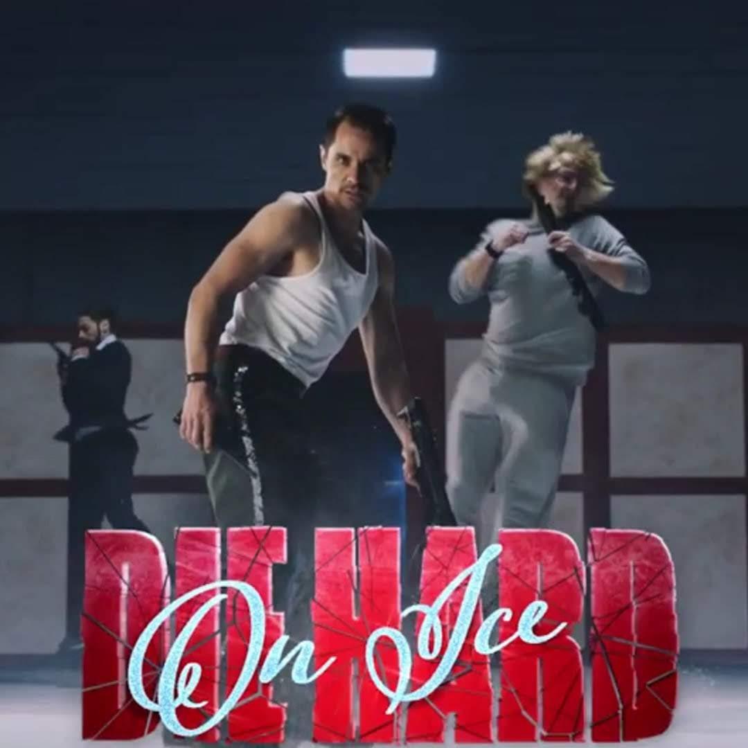 Die Hard On Ice : クリスマス映画としても人気のブルース・ウィリスの代表作を、冬の人気イベントにしてみた「ダイ・ハード・オン・アイス」の予告編 ! !