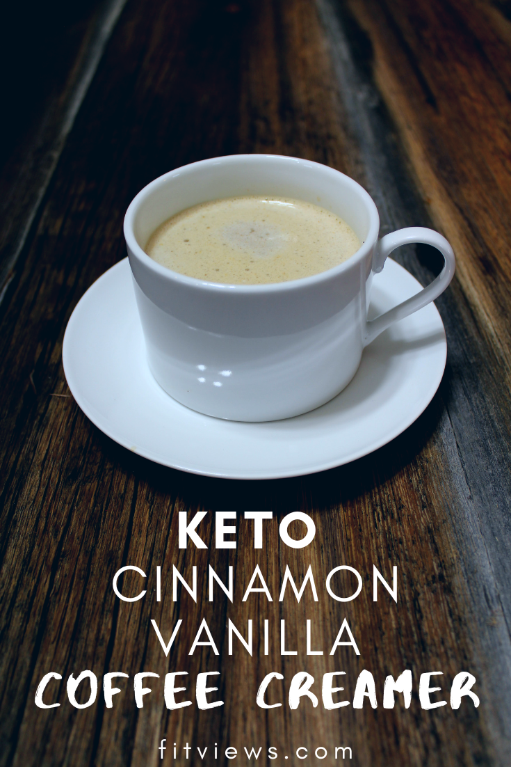 Cinnamon Vanilla KETO Coffee Creamer Recipe
