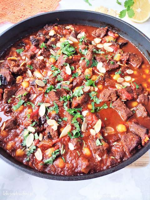 Wołowina po marokańsku tagine z wołowiny przepis