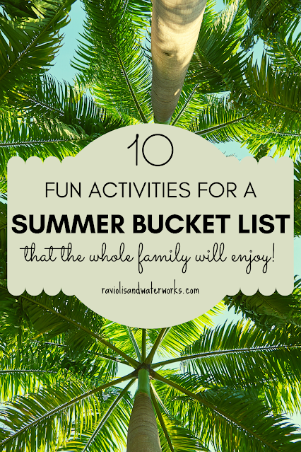 outdoor things to do this summer as a family