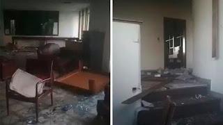 Todo saqueado: Así está el consulado de Venezuela en Bogotá por falta de autoridades colombianas