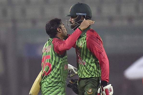 Bangladesh cruise to easy win over Zimbabwe