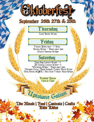 Galion Oktoberfest 2019 Event Flyer