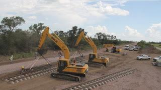 Avanza la renovación del ferrocarril Belgrano Cargas en Salta y Jujuy