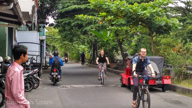 Mari bersepeda menuju kampus