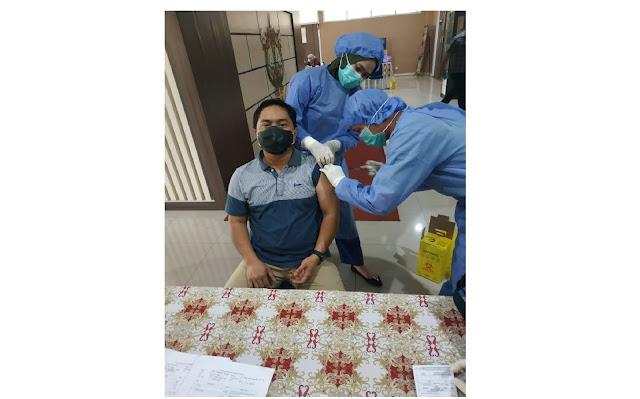 Anggota DPRD Fraksi PPP Tegaskan Vaksinasi Covid-19 Aman