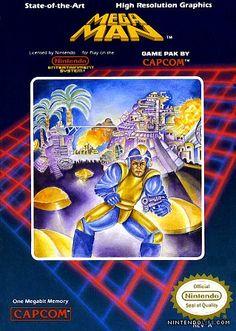 Capa do jogo Mega Man para Nes