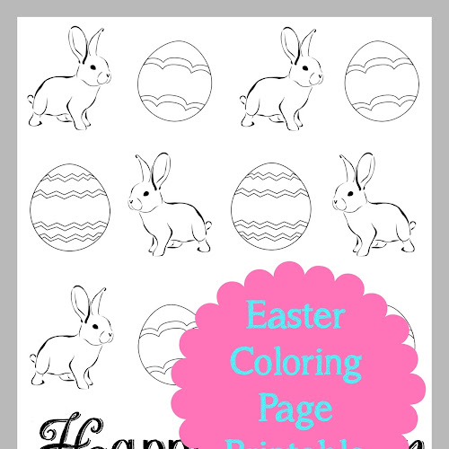 Easter Coloring Page Printable