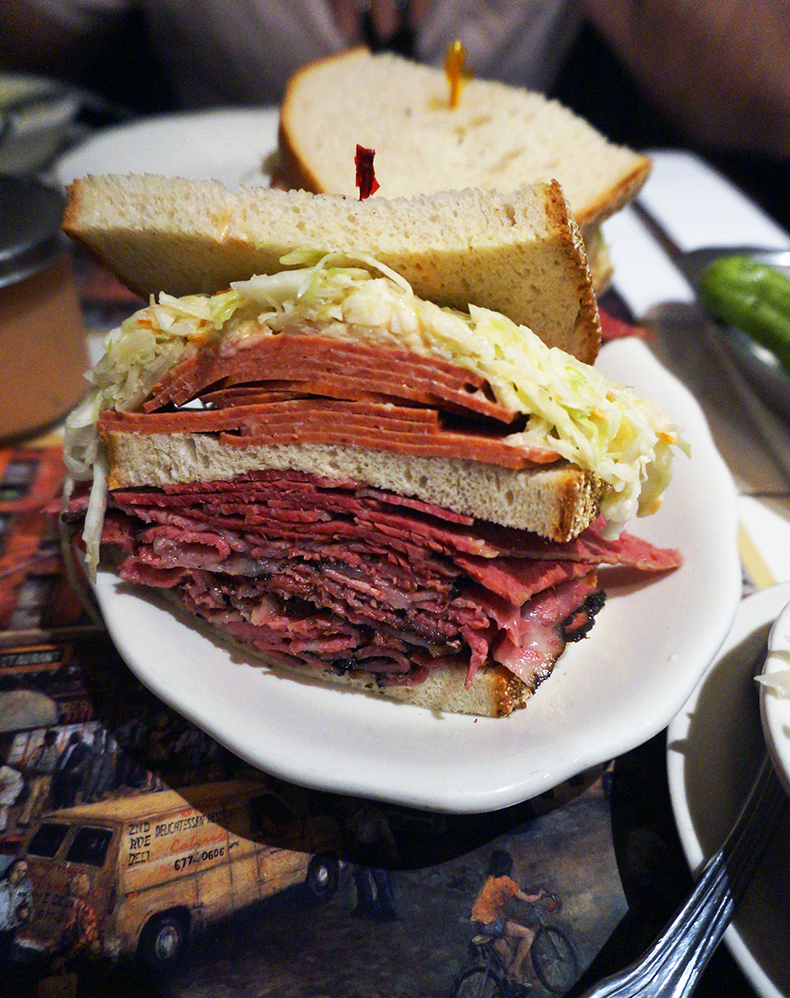 Euriental | fashion & luxury travel | 3 days in New York City, Jewish deli pastrami sandwich