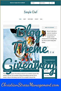 Free website blog theme giveaway