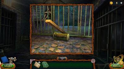 сделан рычаг при помощи доски с бревном в игре затерянные земли 4 скиталец