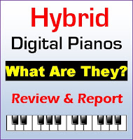 Hybrid Digital Pianos