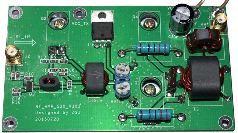 PA3EMY: Upgrade-45-W-SSB-linear-Power-Amplifier-Set-for