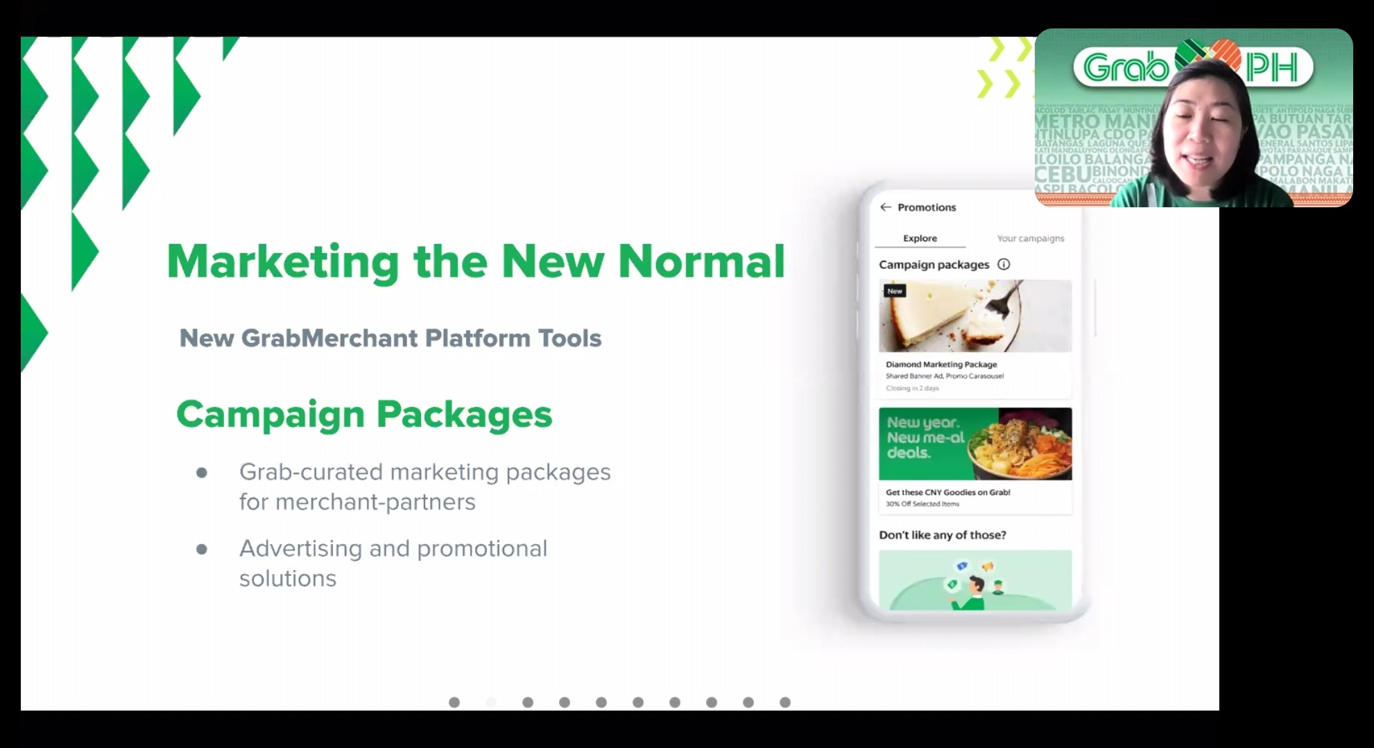 Grab Campaign Packages