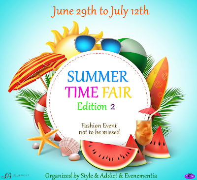 SUMMER TIME FAIR - Edition 2 - FASHION EVENT - INFORMATIONS & APPLICATIONS