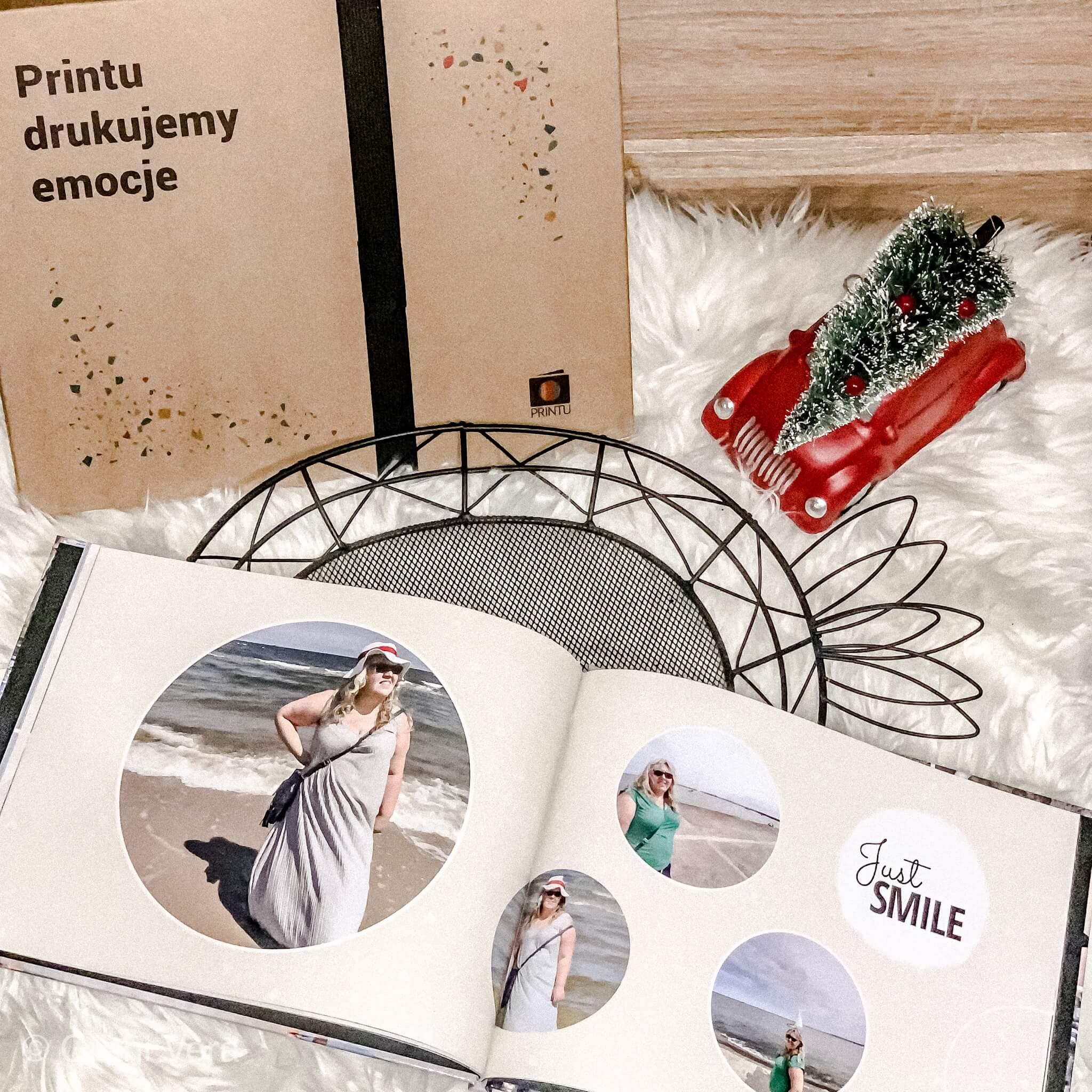 Pomysł na prezent - fotoksiążka + kod rabatowy 40 zł  na fotoksiążkę od Printu