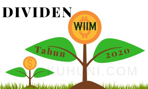 Jadwal Dividen WIIM 2020