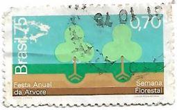 Selo Festa Anual da Árvore