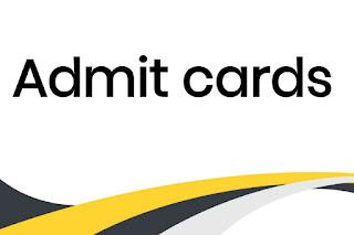 MSC WB  Mazdoor  Admit Cards