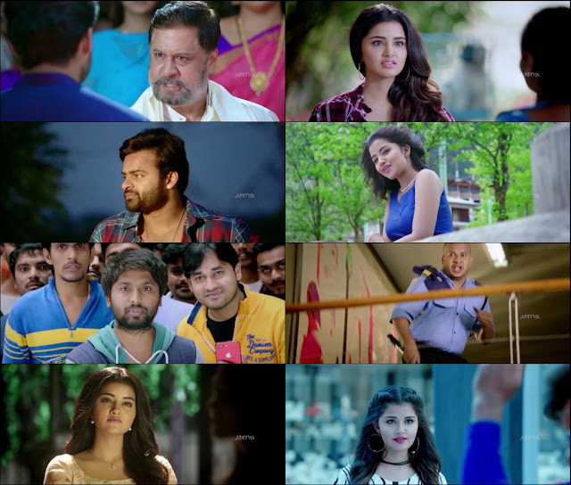 Tej I Love You 2018 Hindi Dubbed 720p WEBRip